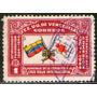 Venezuela Sello Usado Cruz Roja Año 1944