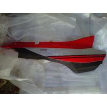 Cacha Lateral Zanella Zb110 G1 Roja Derecha Con Calco