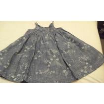 Vestido Nena Jean Estampado Gap Talle 18-24 Meses