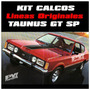 Calco Lineas Coupe Ford Taunus Gt Sp Calomania Ploteoya