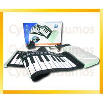 Teclado Organo Electronico De Silicona Antiderrame 220v