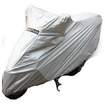 Funda Cubre Moto Goodyear Impermeable Uv Doble Costura Talle