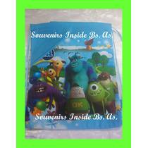 10 Mochilas Bolsitas Souvenirs Monster Minions 27 X 38 Cm Ap