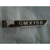 Insignia Cacha Lateral Izquierda Guerrero Gmx 150- Dos Rueda