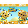 Kit Imprimible Henry Monstruito - Candy Bar + Extras