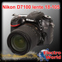 Nikon D7100 Kit 18-105mm Vr + Memo 8gb + 1 Año De Garantia
