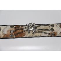Cinturon Gaucho Rastra De Cuero