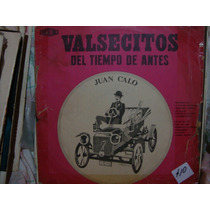 Longplay Disco Vinilo Juan Calo Valsecitos Del Tiempo De Ant