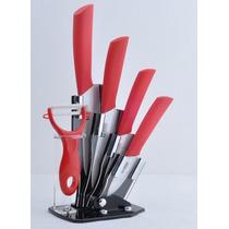 Set De Cuchillos Ceramicos - 6 Piezas - Microcentro