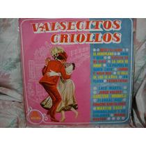 Longplay Disco Vinilo Valsecitos Criollos