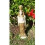 Estatua Escultura De Faraon Pintada En Dorado