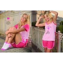 Conjuntos Pijamas Marcela Koury Varios Modelos Miralos