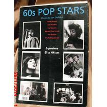 6 Posters Coleccion Jan Olofsson Beatles Hendrix R.stones