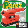 Lijadora Orbital 1/3 Hoja 135w Cd450 Black Decker Envios