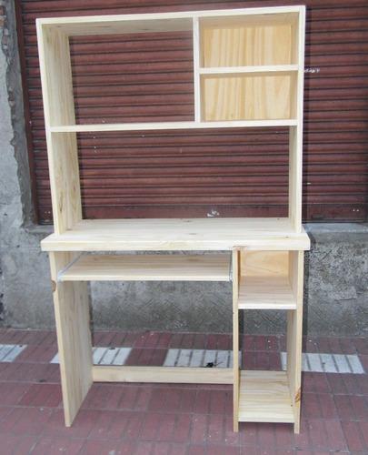 Mueble de pc de pino 850 c2lxs precio d argentina for Muebles de pino precios