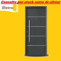 Puerta Exterior Oblak Linea Primma Plus Grafito 1783 90 Cm