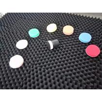 Kit De Pads 1.1 Pulgadas Con Backing Plate Flexible