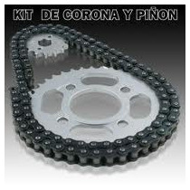 Transmision Corona Piñon Y Cadena Motomel Cg150 S2