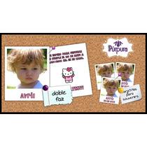 Invitaciones Originales Tipo Polaroid Tarjetas Infantiles