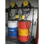 2 Bombas Neumaticas De Aceite + 2 Barriles + Carro Traslado