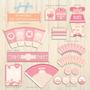 Kit Imprimible Baby-shower Nena
