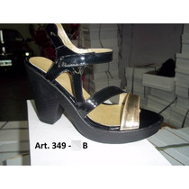 Sandalias Con Plataforma Combinadas - Diosa Isis