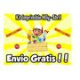 Super Mega Kit Imprimible De Manny A La Obra Tarjeti + Candy