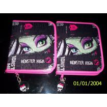 Monster High-cartuchera 1 Piso Pvc-canopla-ideal 1º Grado!