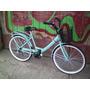 Bicicleta Paseo Rod 26 Con Cambios, Canasto Y Prortaequipaje