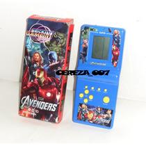 Tetris Tetriz Portatil De Avengers