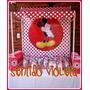 Candy Bar Alquiler Fondo Temático Minnie Mickey Batman Kitty