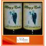 Souvenir Botella De Vino Personalizada Vasco Viejo 375cc