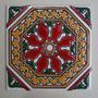 Mayólica Española 15x15cm (oct1515r) (x10)