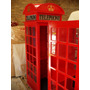Cabinas Telefonicas Inglesas Telephone Puerta Fachada Adorno