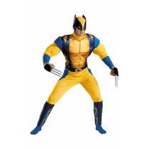Disfraz Hombre Wolverine Usa Hombre Volverine Musculoso