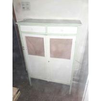 Mueble Vintage Con Tonos Verdes En Buen Estado