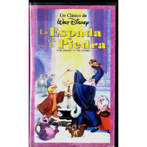La Espada En La Piedra The Sword In The Stone Vhs Imperdible