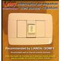 Leloy / Interruptor De Empotrar Tres Puntos - 3 Bahias