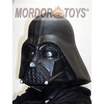 Darth Vader Máscara De Látex Star Wars Halloween Mordortoys