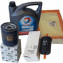 Kit 3 Filtros + Aceite Total Peugeot 307 Coupe 2.0 2001-2005