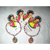1 Pack C/10 Denarios Pulsera Originales Virgen Please Porfis