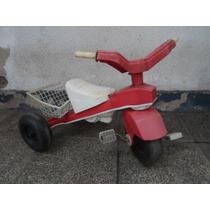 Triciclo Para Chicos Con Canasto