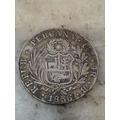 Moneda Peru Cuzco 1836 B 4 Reales De Plata Rara