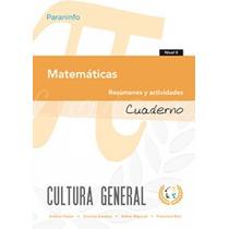 Cuaderno De Trabajo Nivel 2 Matemáticas