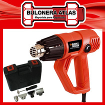 Pistola De Calor 2000w En Kit Hg2000k Black&decker
