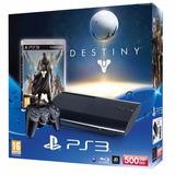 Ps3 Playstation 3 500gb Ultraslim + Juego Destiny Nuevas!