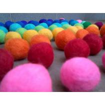 Bolitas De Fieltro Amasado (esferas, Pelotas, Borlas) 20unid