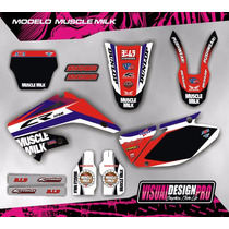 Kit Grafica Calco Honda Cr 125 - 250 - Gruesos! Competición
