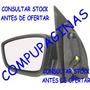 Espejo Retrovisor Electrico Izq Volkswagen Gol Voyage Negro