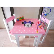 Mesa Infantil Con Pronos Y Encastre